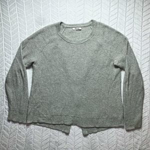 Madewell Province Cross Back Sweater Size L